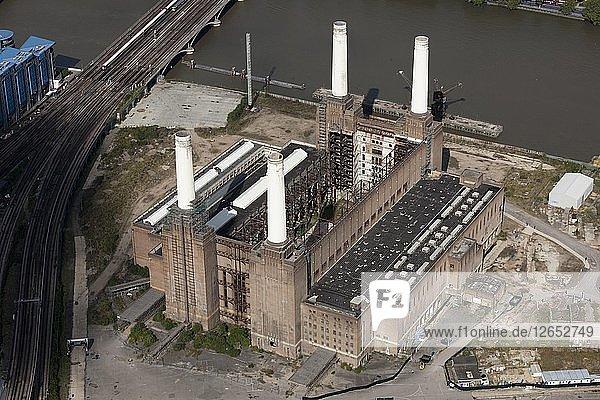 Battersea Power Station  Wandsworth  London  2012. Artist: Damian Grady.