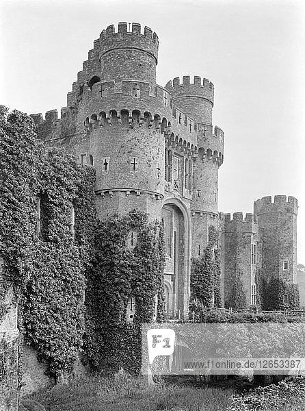 Herstmonceux Castle  East Sussex  1920s. Artist: Nathaniel Lloyd.