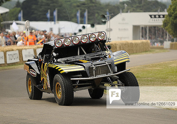 2009 Trophy Truck off road racer at Goodwood Artist: Unknown.
