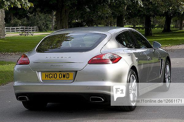 2010 Porsche Panamera Artist: Unknown.