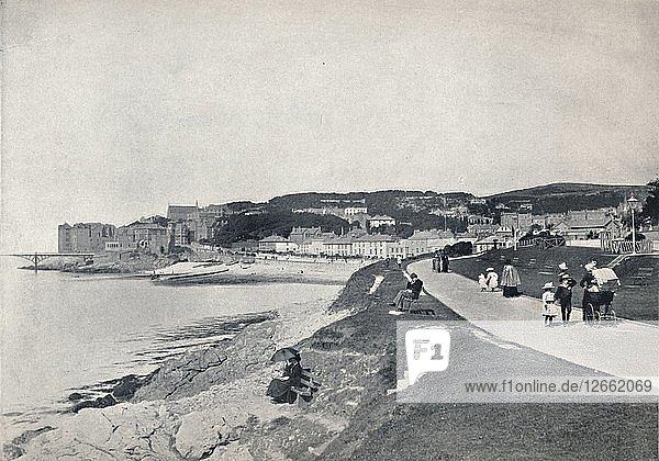 Clevedon - The Green Beach  1895. Artist: Unknown.