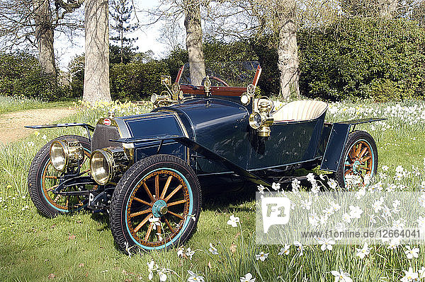 1910 Bugatti Type 13 Artist: Unknown.