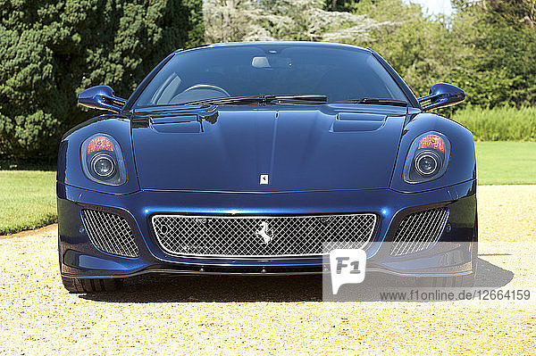 2010 Ferrari 599 GTO Artist: Unknown.