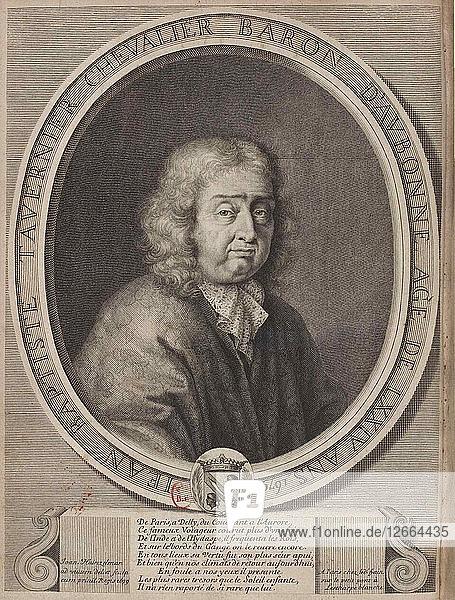 Portrait of Jean-Baptiste Tavernier (1605-1689)  1679.