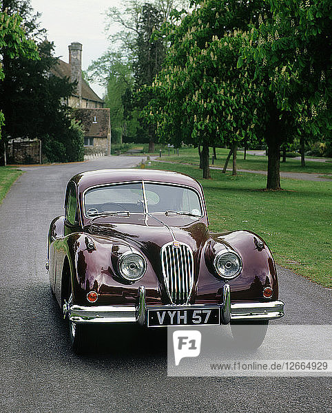 1957 Jaguar XK 140 Artist: Unknown.