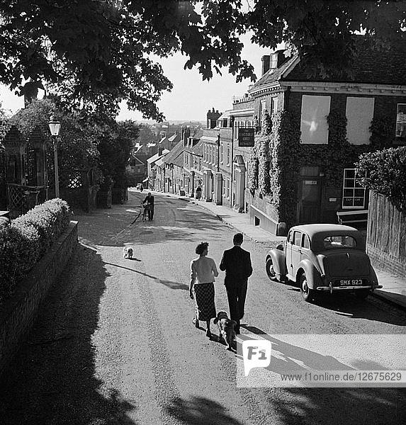 Fore Street  Hatfield  Hertfordshire  1955-1965. Artist: John Gay.