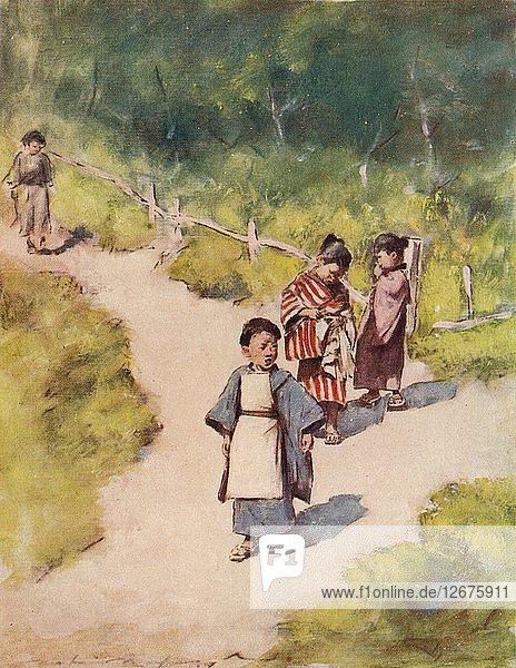 A Sunny Stroll  c1887  (1901). Artist: Mortimer L Menpes.