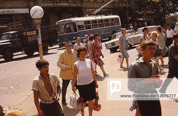 Street Scene  Odessa  c1970s. Artist: CM Dixon.
