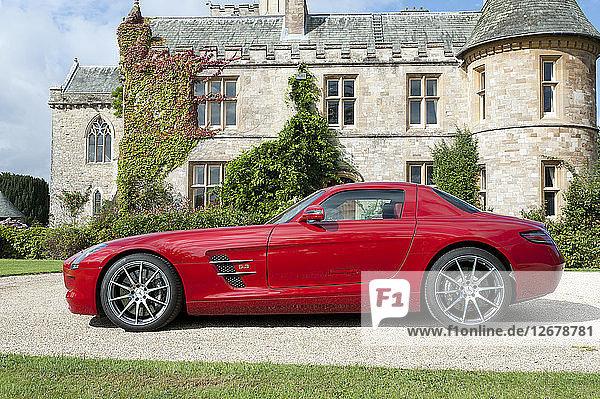 2011 Mercedes Benz AMG SLS Artist: Unknown.