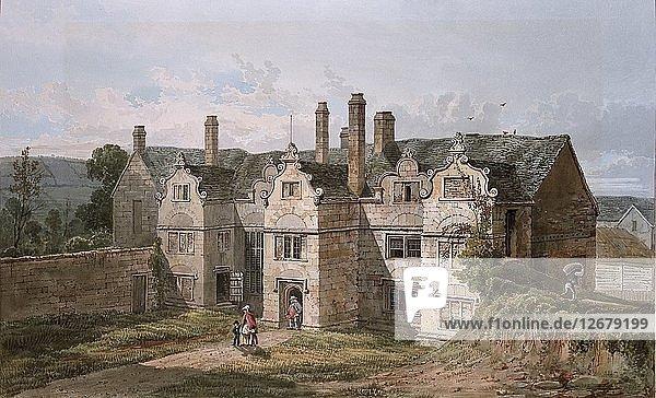 View of Trerice  Cornwall  1819. Artist: George Shepherd.