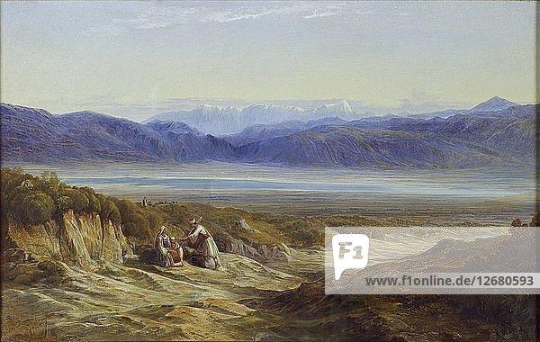 Thermopylae  1872. Artist: Edward Lear.