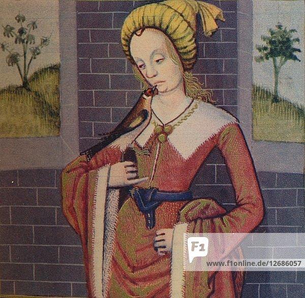 Claudia - Verge Vestale  1403  (1939). Artist: Master of Berrys Cleres Femmes.