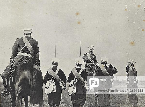 Emperor Nicholas II of Russia  c. 1898.