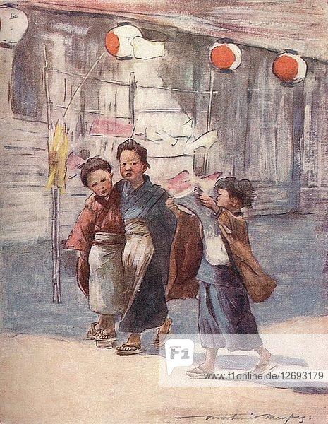 News  c1887  (1901). Artist: Mortimer L Menpes.
