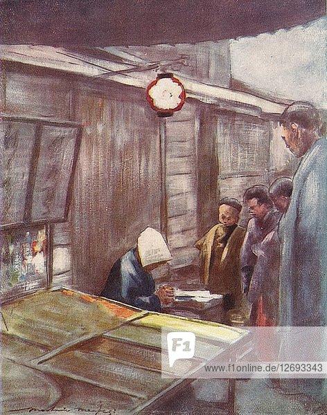A Sweet-Stuff Stall  c1887  (1901). Artist: Mortimer L Menpes.