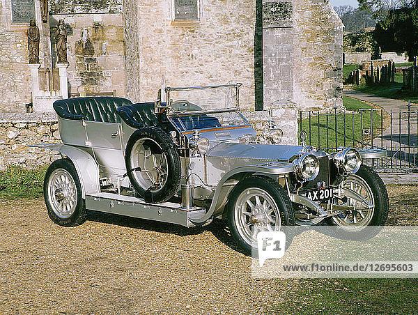 1907 Rolls Royce Silver Ghost. Artist: Unknown.