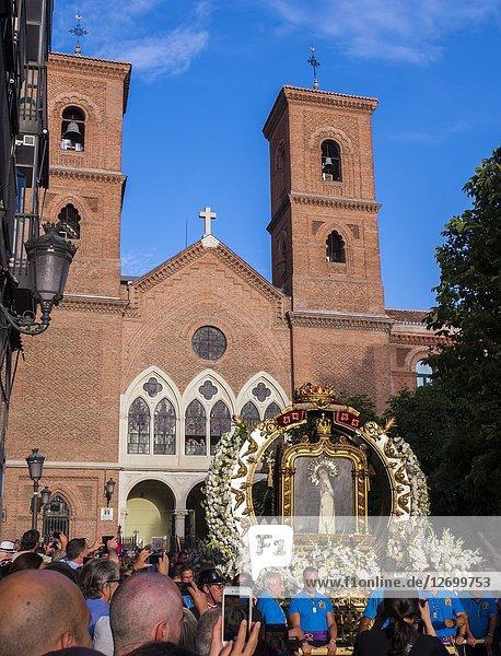 Fiestas de La Paloma. Madrid  Spain.