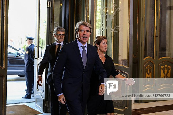September 10  2018 - Madrid  Spain - The president of the Community of Madrid  çngel Garrido. The Supreme Court is the scene of the solemn opening ceremony of the Judicial Year 2018/2019  which will be chaired by the King. Photo: Jesus Hellin