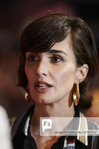 Paz Vega attends 'El Continental' Premiere at Callao Cinema on September 13  2018 in Madrid  Spain