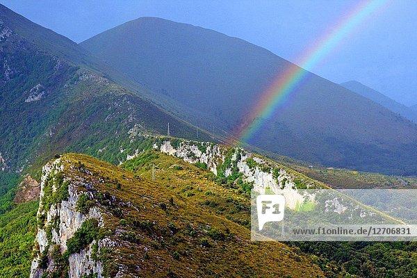 Rainbow  Maratea  Basilicata  Italy
