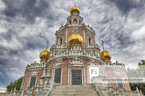 Church of the Intercession (1694)  Fili  Moscow  Russia.