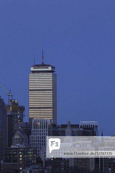 Prudential Center  Boston  Massachusetts  United States.
