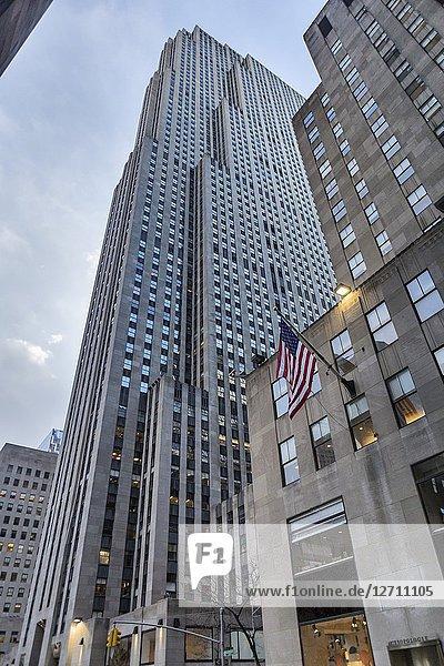 Rockefeller Center (1939)  New York City  USA.