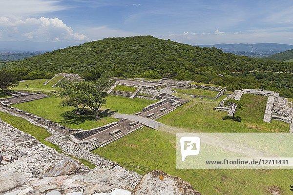 Ruins of Xochicalco  Morelos state  Mexico.