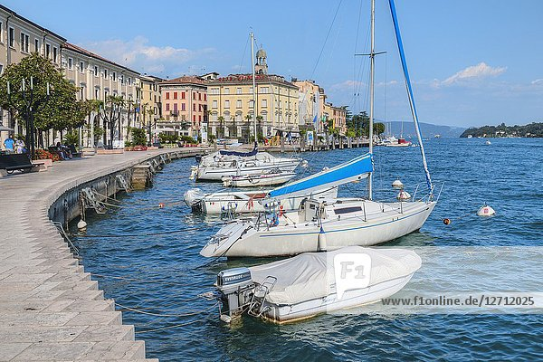 Salo  Lake Garda  Lombardy  Italy  Europe.