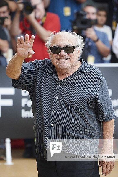 Danny DeVito is seen arriving at Maria Cristina Hotel during 66th San Sebastian Film Festival on September 21  2018 in San Sebastian  Spain