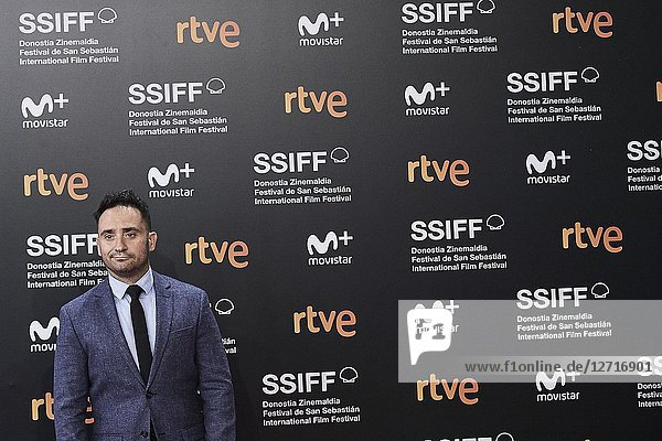 Juan Antonio Bayona attended 'El Reino' Premiere during the 66th San Sebastian International Film Festival at Kursaal Palace on September 22  2018 in San Sebastian  Spain