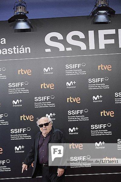 Danny DeVito attended 'El Reino' Premiere during the 66th San Sebastian International Film Festival at Kursaal Palace on September 22  2018 in San Sebastian  Spain