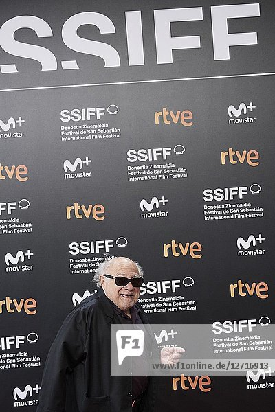 Danny DeVito attended 'El Reino' Premiere during the 66th San Sebastian International Film Festival at Kursaal Palace on September 22  2018 in San Sebastian  Spain