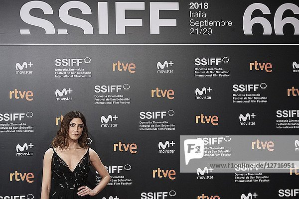 Barbara Lennie attended 'El Reino' Premiere during the 66th San Sebastian International Film Festival at Kursaal Palace on September 22  2018 in San Sebastian  Spain