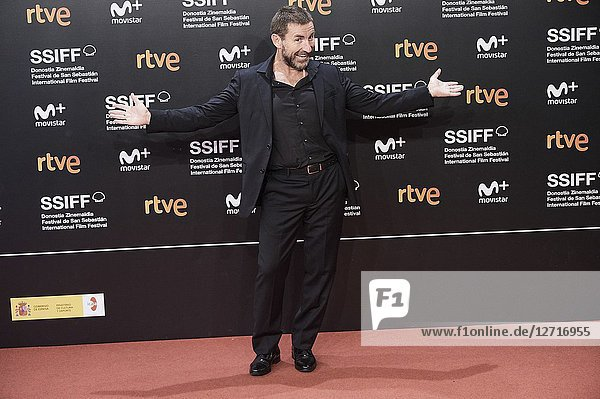 Antonio de la Torre attended 'El Reino' Premiere during the 66th San Sebastian International Film Festival at Kursaal Palace on September 22  2018 in San Sebastian  Spain