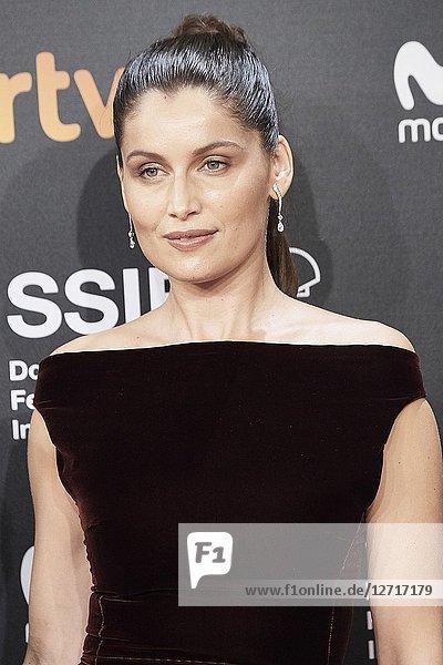 Laetitia Casta attended 'A Faithful Man' Premiere during the 66th San Sebastian International Film Festival at Kursaal Palace on September 23  2018 in San Sebastian  Spain