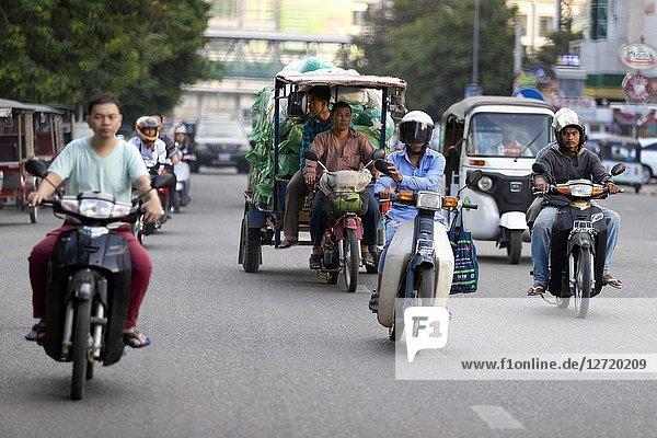 Pnom Penh  Kingdon of Cambodia.