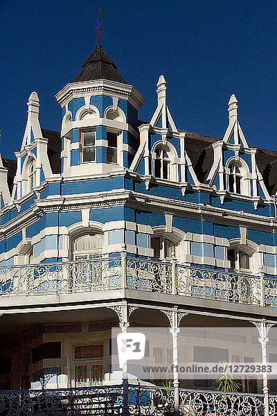 South Africa. Western Cape. Capetown. Victorian architecture onLone Street