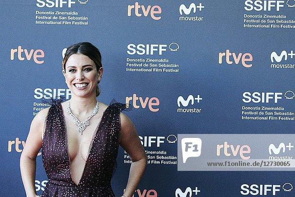 Blanca Suarez attended 'Tiempo despues' Premiere during the 66th San Sebastian International Film Festival at Victoria Eugenia Theater on September 25  2018 in San Sebastian  Spain