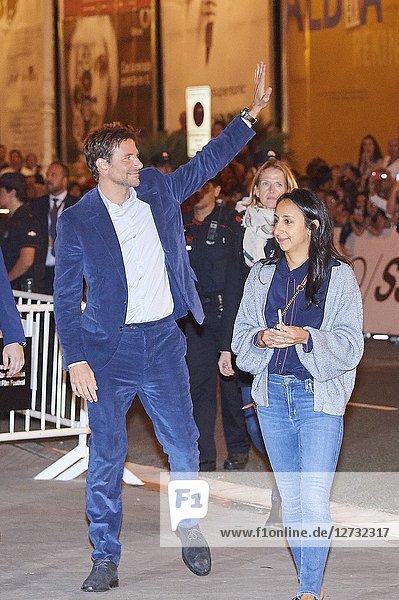 Bradley Cooper is seen arriving at Maria Cristina Hotel during 66th San Sebastian Film Festival on September 28  2018 in San Sebastian  Spain
