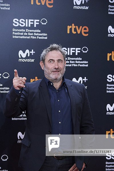 Sergi Lopez attended 'Bad Times at the El Royale' Premiere during the 66th San Sebastian International Film Festival at Kursaal Palace on September 29  2018 in San Sebastian  Spain
