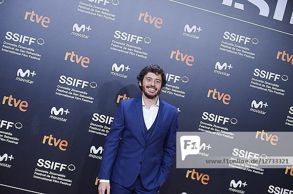 Javier Pereira attended 'Bad Times at the El Royale' Premiere during the 66th San Sebastian International Film Festival at Kursaal Palace on September 29,  2018 in San Sebastian,  Spain