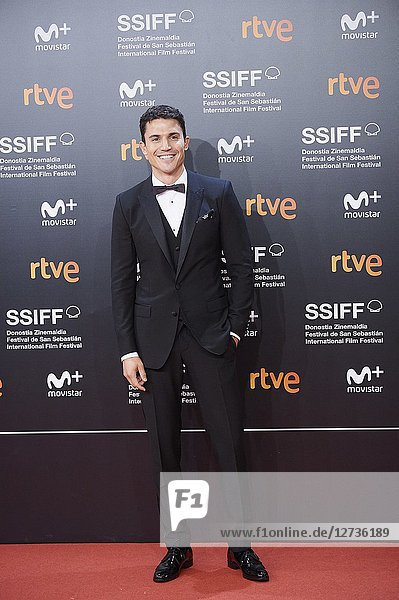 Alex Gonzalez attended 'El amor menos pensado' Premiere during the 66th San Sebastian International Film Festival at Kursaal Palace on September 21,  2018 in San Sebastian,  Spain