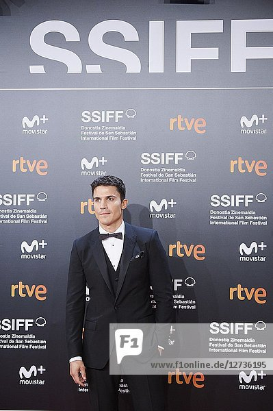 Alex Gonzalez attended 'El amor menos pensado' Premiere during the 66th San Sebastian International Film Festival at Kursaal Palace on September 21  2018 in San Sebastian  Spain