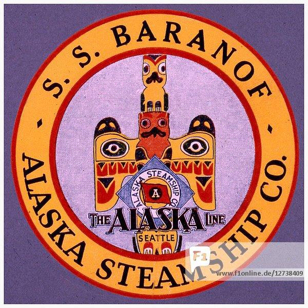 S.S. Baranoff - Alaska Steamship Co.