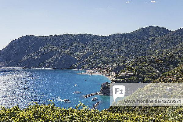 Italy  Liguria  Cinque Terre  Monterosso al Mare