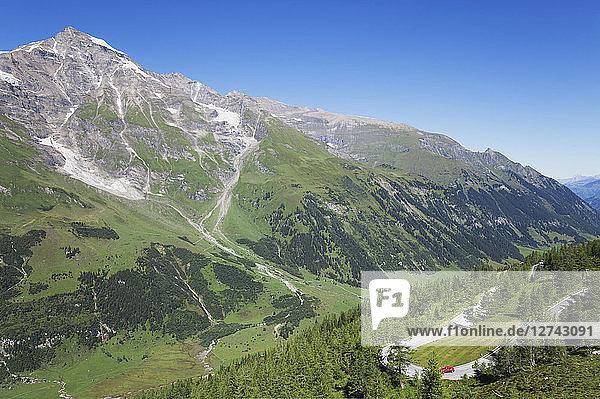 Austria  Grossglockner High Alpine Road  Fuscher Valley
