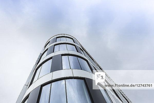 Poland  Krakow  facade of modern office building
