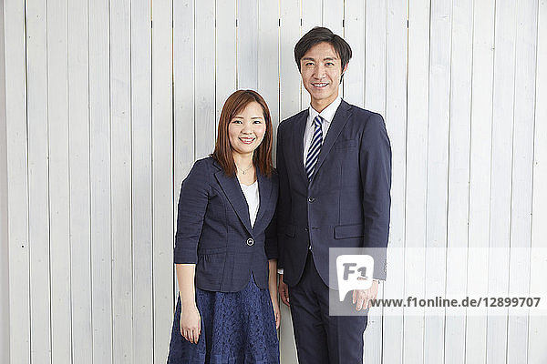 Japanese couple studio photo shoot