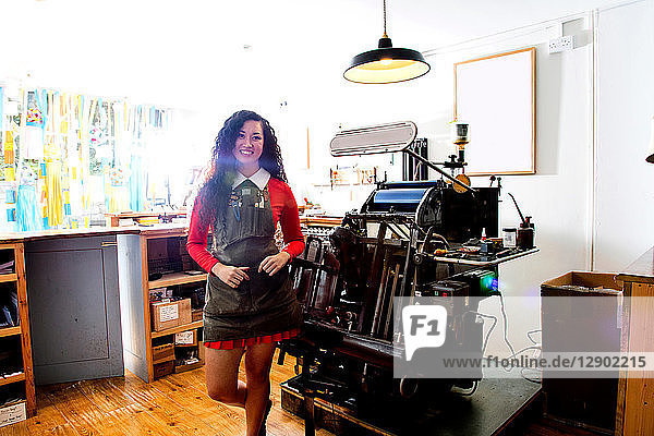 Proud owner of printing shop